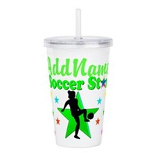 SOCCER PLAYER Acrylic Double-wall Tumbler