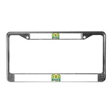 Beach Lover License Plate Frame