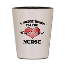 World's Best Nurse Shot Glass