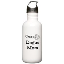 Crazy Dogue Mom Water Bottle