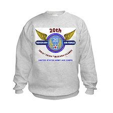 20TH ARMY AIR FORCE* ARMY AIR CORP Sweatshirt