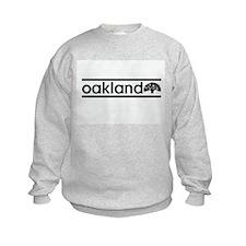 Oakland Stripe Sweatshirt
