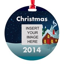 Personalize Christmas Picture Ornament