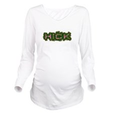 Hick Girl Long Sleeve Maternity T-Shirt