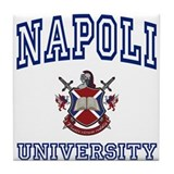NAPOLI University Tile Coaster
