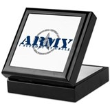 Army - I Support My Uncle Keepsake Box