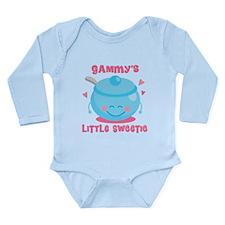 Gammys Little Sweetie Long Sleeve Infant Bodysuit