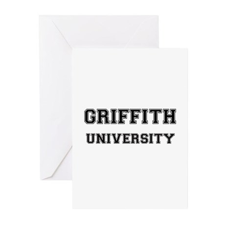 GRIFFITH UNIVERSITY Greeting Cards (Pk of 10)