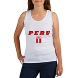Women's Peru Soccer Tank Top