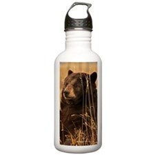 Waiting Bear Water Bottle