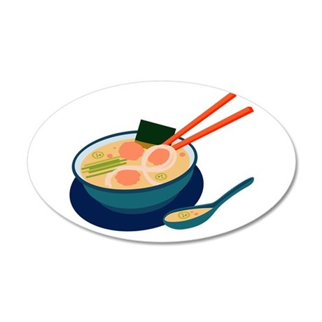 Asian Soup Wall Decal