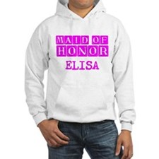 Maid Of Honor Personalized Hoodie