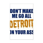 Detroit Baseball Mini Poster Print