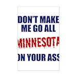 Minnesota Baseball Mini Poster Print