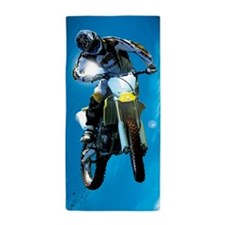 Motocross Side Trick Beach Towel