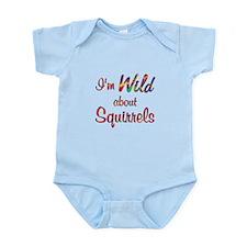 Wild About Squirrels Infant Bodysuit