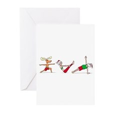 Cute Fitness Greeting Cards (Pk of 10)