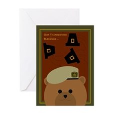 Thanksgiving Card To U. S. Army Greeting Cards
