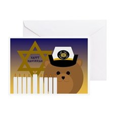 To Coast Guardsman Hanukkah Card Greeting Cards