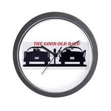 Drive-in Wall Clock