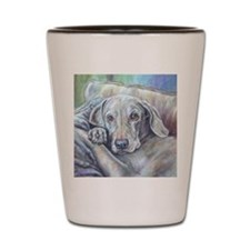 Waimaraner Dog Shot Glass
