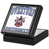 OVERTURF University Keepsake Box