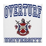 OVERTURF University Tile Coaster