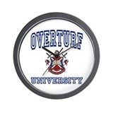 OVERTURF University Wall Clock
