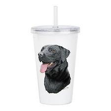 Labrador Retriever (bl Acrylic Double-Wall Tumbler