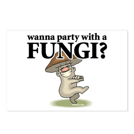 Party with Fungi Postcards (Package of 8)