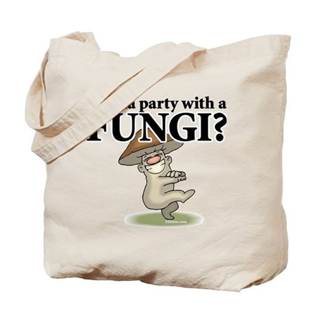 Party with Fungi Tote Bag