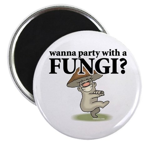 Party with Fungi Magnet