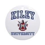 KILEY University Ornament (Round)