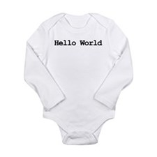 Cute Internet humor Long Sleeve Infant Bodysuit