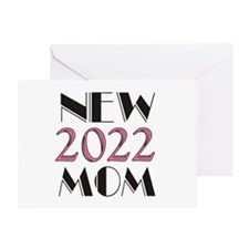 2015 New Mom Card Greeting Cards