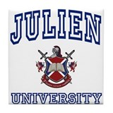JULIEN University Tile Coaster