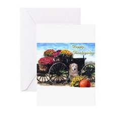 Unique Happy thanksgiving Greeting Cards (Pk of 20)