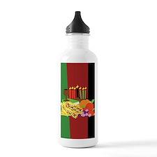 Kwanzaa Design Water Bottle