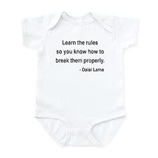 Dalai Lama 11 Infant Bodysuit