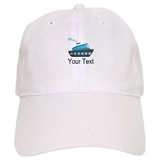 Personalizable Cruise Ship Baseball Baseball Cap