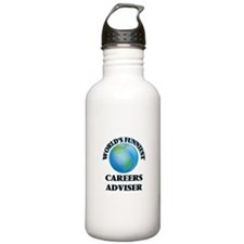 World's Funniest Caree Water Bottle