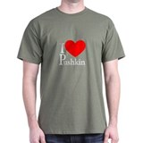 I Love Pushkin T-Shirt