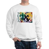 NOLA Mardi Gras Fleur de lis Jumper