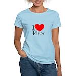 I Love Tolstoy Women's Light T-Shirt