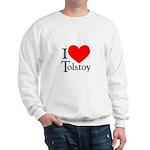 I Love Tolstoy Sweatshirt
