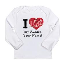 I Love My Auntie Long Sleeve T-Shirt