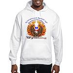 S.I. Untamed Spirit on Hooded Sweatshirt