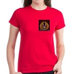 S.I. Untamed Spirit on Women's Dark T-Shirt