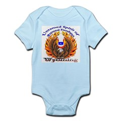 S.I. Untamed Spirit on Infant Bodysuit