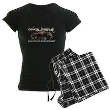 Cowgril Foreplay Pajamas